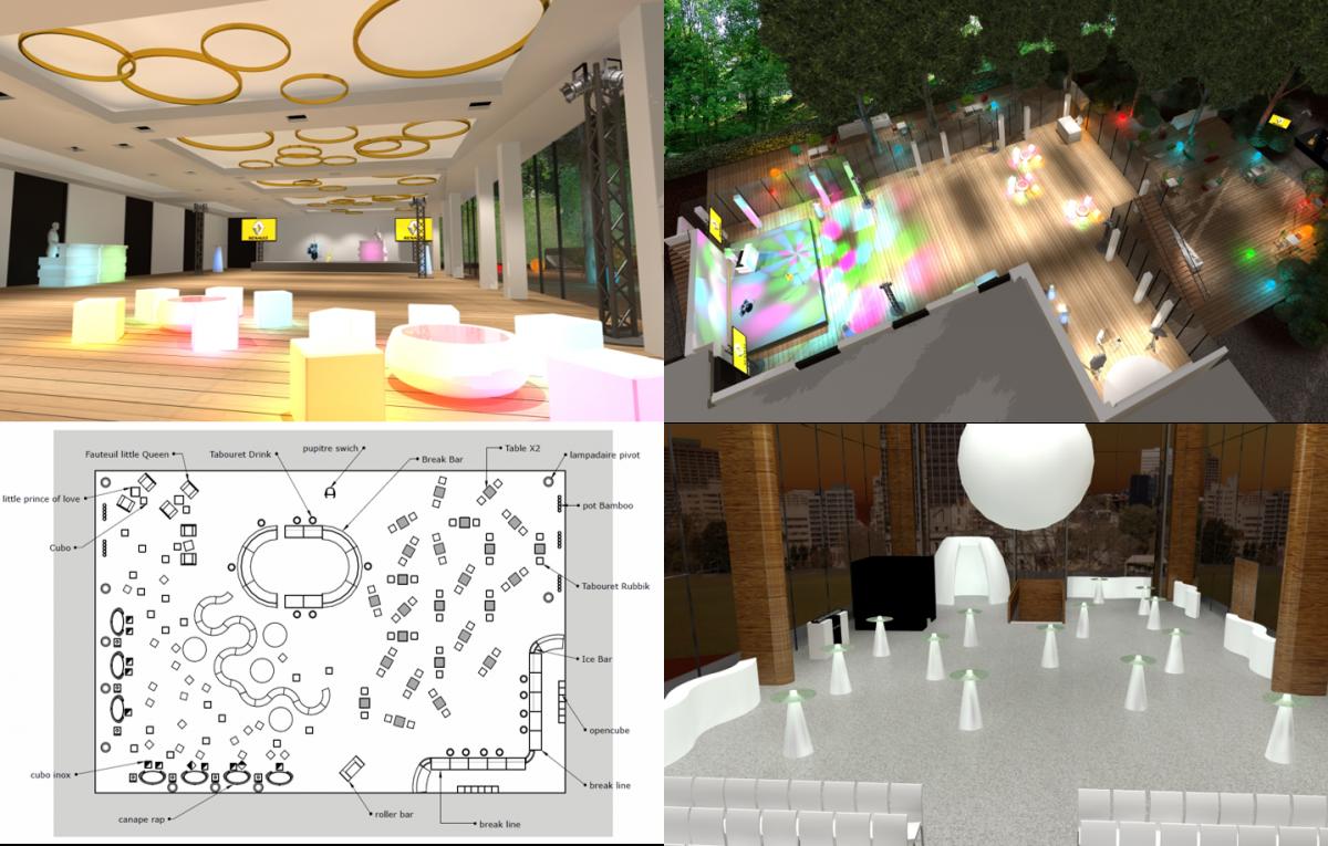 Service, plans et visuels 2D 3D